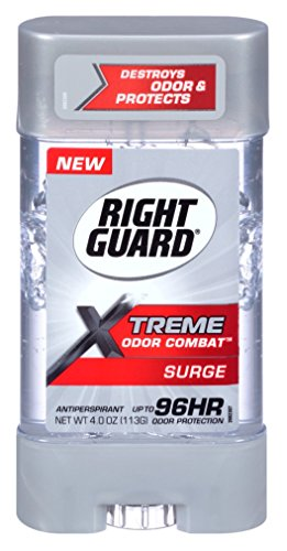 Right Guard Xtreme 4 Ounce Gel Geruch Kampf Surge (118ml) (3er-Pack)