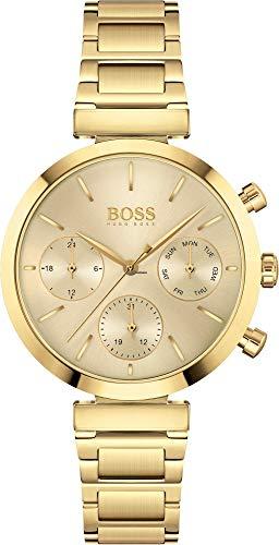 Hugo BOSS Reloj Analógico para Mujer de Cuarzo con Correa en Acero Inoxidable 1502532