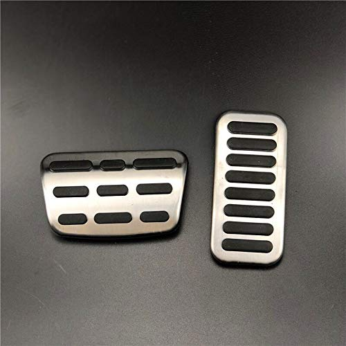 Gas-Kraftstoff-Bremse Auto-Pedal-Fit for Hyundai Elantra Encino I30 Kona 2016-2019 Und Kia Forte KX7 XCEED 2018-2019 Car Styling (Color Name : for at 2pcs)