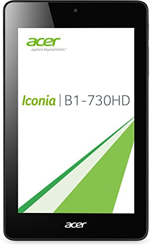 Acer Iconia One 7 (B1-730HD) 17,8 cm (7 Zoll) Tablet-PC (Intel Atom Z2560, 1,6GHz, 1GB RAM, 8GB eMMC, HD Display mit IPS Technologie, Android 4.2) schwarz