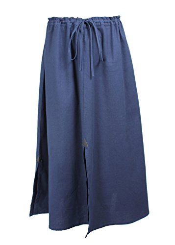 Epic Armoury - Falda - globo - para mujer azul oscuro 150 cm(7-8Años)