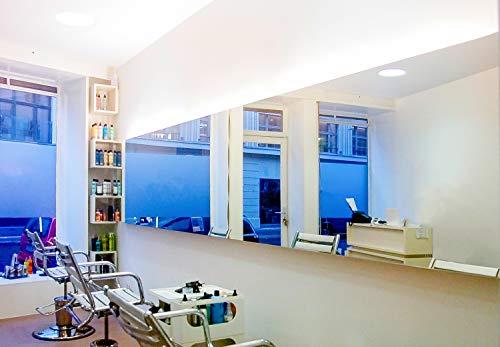 BE GLASS Spiegel nach Maß, 5mm Dicke, Zuschnitt Aller Größen millimetergenau bis 20 x 50 cm (200 x 500 mm), Kanten geschliffen und poliert. Günstig und schnell direkt ab Werk, versicherter Versand.