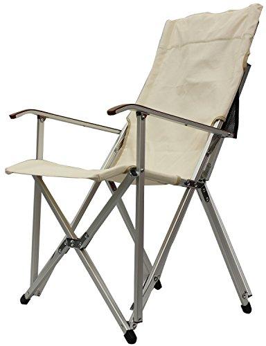 ogawa(オガワ) 折りたたみ椅子 ハイバックチェア コットン ナチュラル 1908