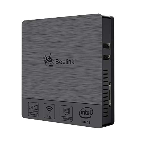 Beelink BT3 Pro II Mini PC Desktop PC with Dual Screen Display