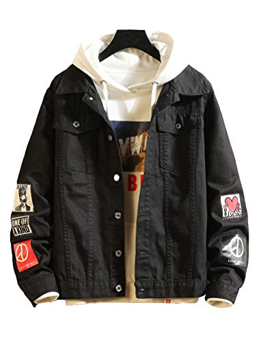 Korean Style Denim Jackets Men