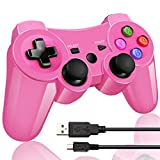 Bluetooth Wireless Controller pour manette PS3 Double Frappe Gamepad & Manette pour...