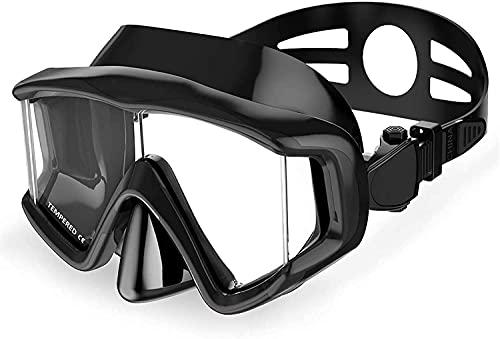 AWJ máscara de Buceo Máscaras de Buceo Antivaho Impermeable Gafas de natación subacuáticas Máscara de Buceo Esnórquel Buceo Profundo Equipo de esnórquel Profesional para Hombres Mujeres (Co
