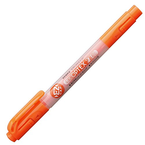 ゼブラ 蛍光ペン 蛍光オプテックス2 EZ WKT11-OR オレンジ