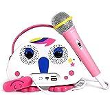 Neueste Kinder Bluetooth Karaoke-Maschine mit Mikrofon Einhorn, Kinder...