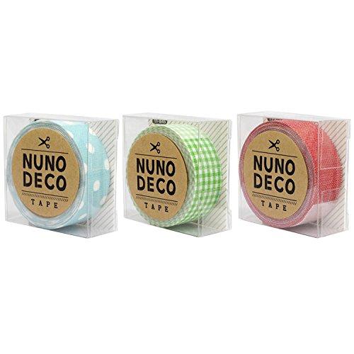 ファンシー雑貨 NUNO DECO TAPE ヌノデコテープ セット(E)