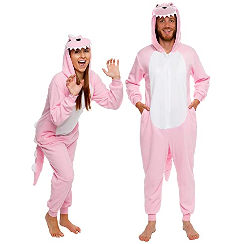 Silver Lilly Slim Fit Animal Pajamas - Adult One...