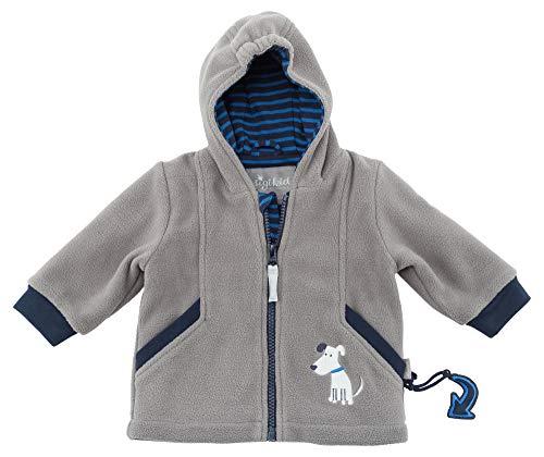 Sigikid Baby-Jungen Fleece Jacke, Grau (Grau (Titanium 2) 2), 62