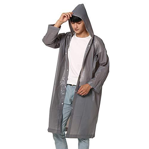 Romote 1pc Art Und Weise Eva Frauen Männer Raincoat Verdickter Wasserdichter Regen-mantel Erwachsene Kampierende Wasserdichte Regenkleidung Anzug Beliebte Regen-poncho