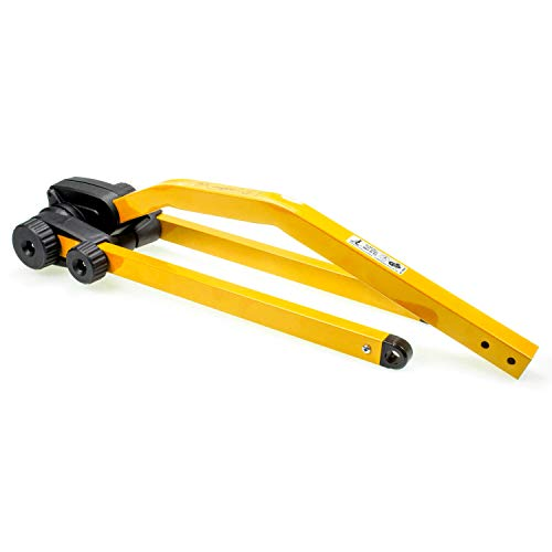 Peruzzo Unisex– Erwachsene Tandem-Stange-3091801200 Tandem-Stange, gelb, One Size