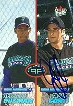 Autographed Jason Conti Baseball - Card 2001 Fleer Ultra Prospects #235 - Autographed Baseball Cards