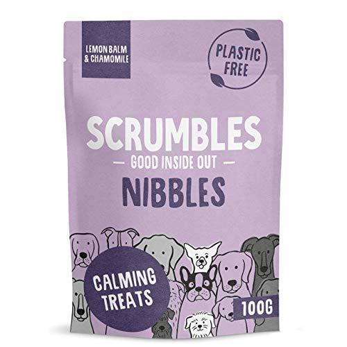 Scrumbles Nibbles, 100% Natural, Calming Dog Treats, Grain Free Turkey...