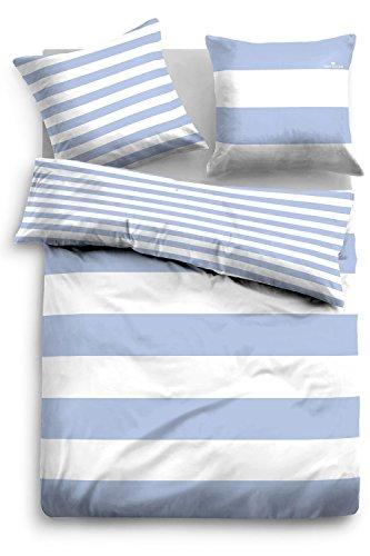 TOM TAILOR Wendebettwäsche Casual Stripe 49769-843 1 Bettbezug 135x200 cm + 1 Kissenbezug 80x80 cm