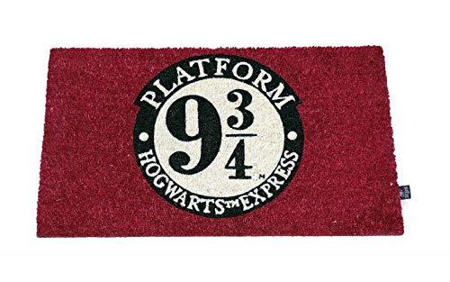 SD toys Felpudo Doormat Harry Potter Official Merchandising Referencia DD Textiles del hogar Unisex Adulto, Multicolor (Multicolor), única