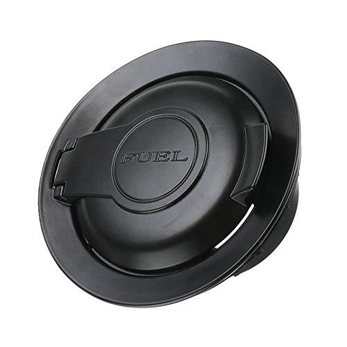 dodge challenger fuel door black - 6