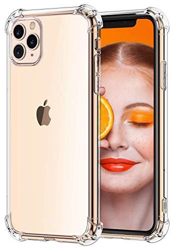 """RKINC Funda para Apple iPhone 11 Pro MAX 6.5"""", Esquinas reforzadas Funda de TPU de cojín Suave Ultrafina, Ligera, Flexible y Resistente a los arañazos para Apple iPhone 11 Pro MAX 6.5"""""""