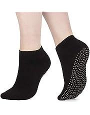 X3 pak pilates sokken, yoga sokken - Martial arts, fitness, Zumba, dans - anti-slip - Full Toe Sports sokken - Unisex met grip, UK 6-11 / EU 39-46 - van ATA®