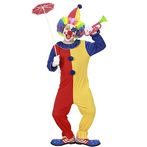 Widmann - Déguisement Clown Bicolore 11/13 Ans