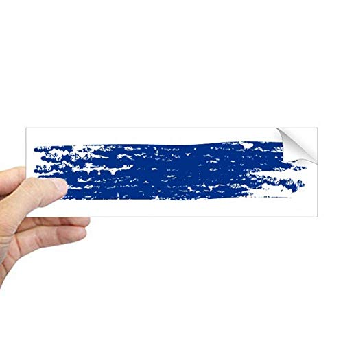 DIYthinker Aquarel Tekenen Thailand Vlag Illustratie Rechthoek Bumper Sticker Notebook Window Decal
