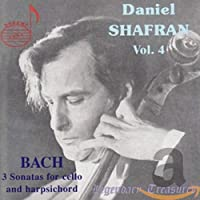 Daniel Shafran Vol. 4: Bach - 3 Sonatas for Cello