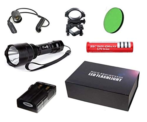 Linterna Trustfire C8-1 Led kit 1300 lm CREE XML-T6 (Kit Nº