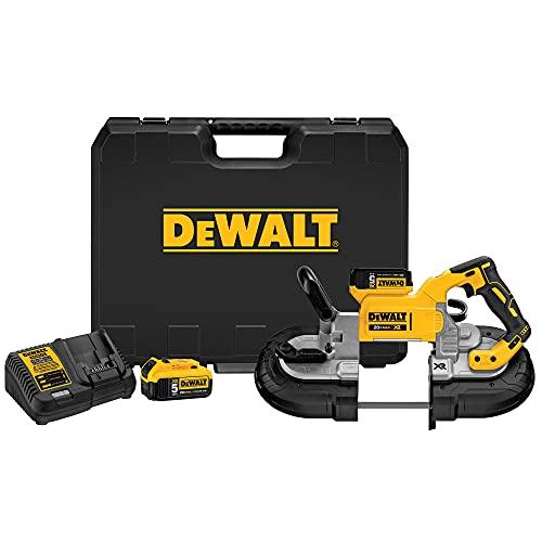 DEWALT 20V MAX Portable Band Saw Kit, Deep Cut (DCS374P2)