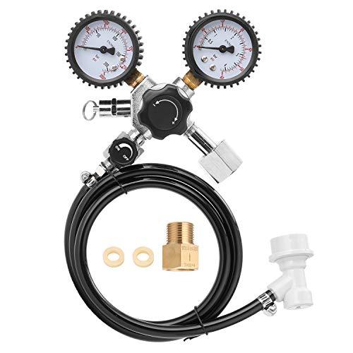 Janhiny Bier CO2 Keg Regulator Sicherheitsüberdruckventil 0-3000 PSI Tanks Druck
