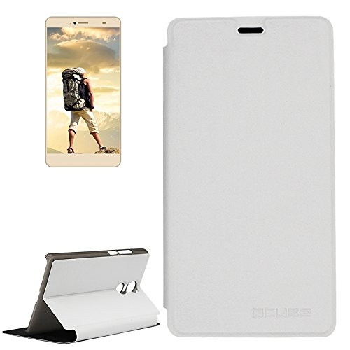 Beautiful Cases & Covers OCUBE BLUBOO Maya Max (MPH1857) Spring Texture Horizontal Flip Leather Case with Holder (Color : White)