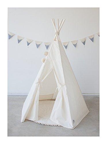 Children teepee Kids teepee Tipi tent Tepee Play tent Super sturdy 100% handmade