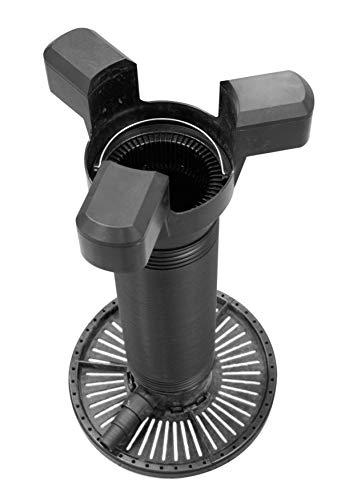 velda Ultra Skimmer 126517, Teich Standskimmer für Gartenteiche, Oberflächenabzug und Filter für Teich bis 100 m³ Wasseroberfläche