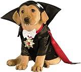 Halloween - Disfraz de Drácula para mascota, Talla M perro (Rubie's 887862-M)