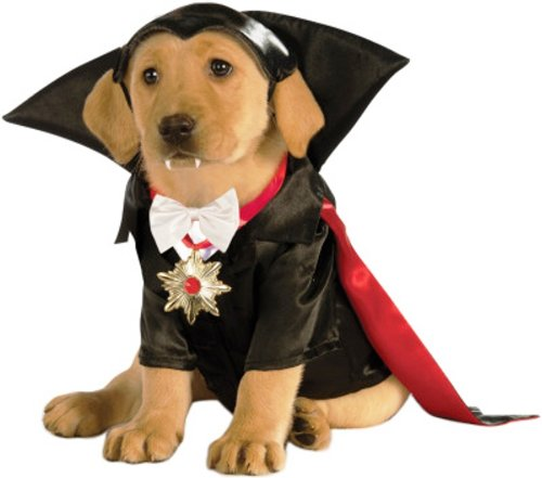 Rubies Costume Classic Movie Monsters Collection Dracula Pet Costume