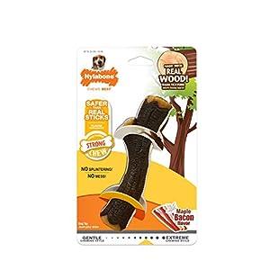 Nylabone Real Wood Stick Strong Dog Stick Chew Toy