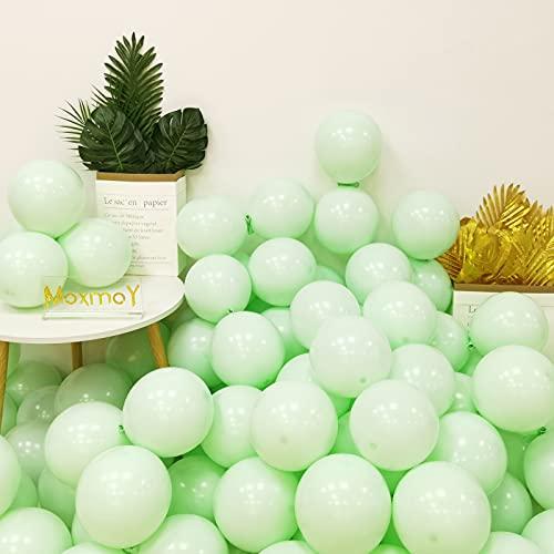 Globos de látex de color pastel, 100 unidades de 10 pulgadas, ideales para la decoración de fiestas, cumpleaños, bodas, compromisos, aniversarios, Navidad y festividades.