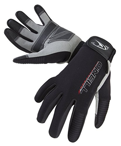 O 'Neill Wetsuits Hombre Explore 1mm Gloves, Todo el año, Hombre, Color Negro - Negro, tamaño Small