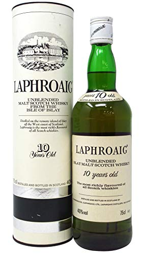 Laphroaig - Pre-Royal Warrant Malt Scotch - 10 year old Whisky