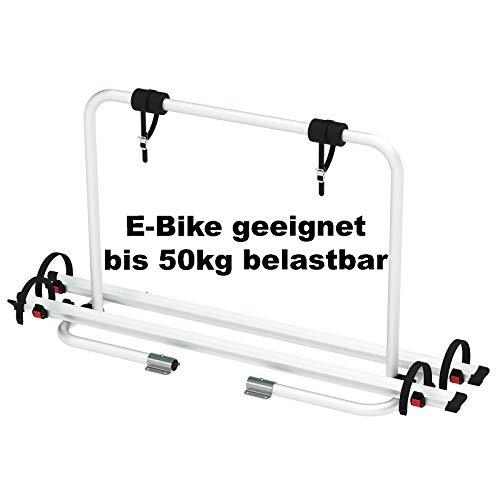 Deichsel-Fahrradträger Deichsel Träger XL ALU 2 Fahrräder Bike Wohnwagen bis 50kg