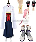 即納品 SK∞ エスケーエイト Cherry Blossom 桜屋敷 薫 コスプレ衣装 + ウィッグ+靴風