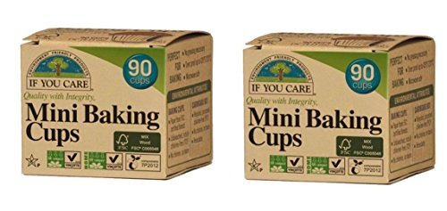 You Care mini baking cups, Brown