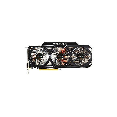Gigabyte GV-N770WF3-2GD NVIDIA GeForce GTX 770 Grafikkarte (PCI-e, 2GB GDDR5 Speicher, Dual Link DVI-I/-D, HDMI, DisplayPort, 1 GPU)