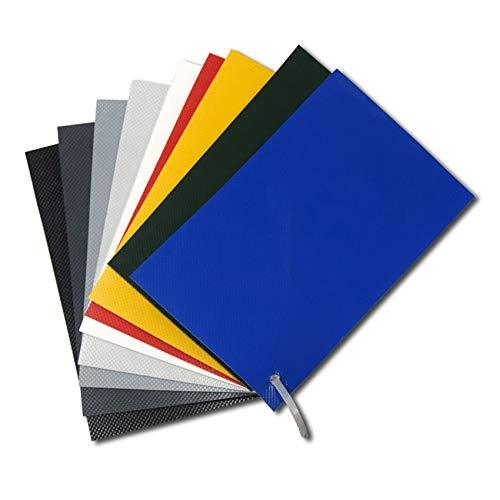 Parche de PVC para reparación de neumáticas 50x50 cm (Gris
