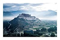 JCXOZ チベットの有名な風光明媚なスポット、中国ポタラ宮、大人の余暇のパズル500/1000ピース木製パズル ジグソーパズル (Size : 1000)
