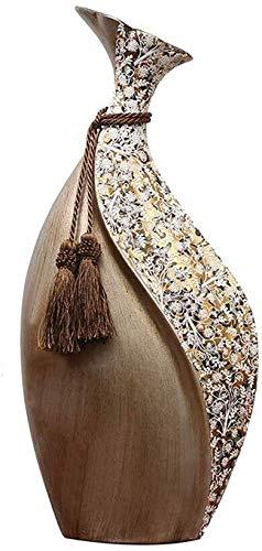 QJM Hanging hochet Ornement coloré Salon Artisanat, décoration rétro Petite Bouche Recueille Richesse Vase Hanging hochet