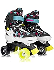 Street Runner | Roller Skates | 4 Size Adjustable | Skating shoe for kids and Teen |