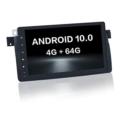 Dasaita Autoradio Android de 7 Pulgadas con Carplay para BMW E46 M3 1998 1999 2000 hasta 2006 Bluetooth Pantalla táctil para Coche Reproductor de vídeo Multimedia (4G + 64G)