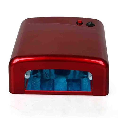 Lampes UV multifonctionnel UV LED Nail Dryer 36w grande machine de durcissement de colle d'huile d'ongle d'espace pour mains et pieds 110 / 220v